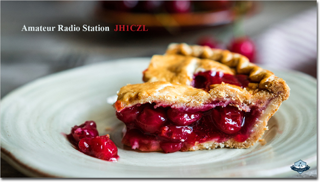 QSL@JR4PUR #483 - Cherry Pie