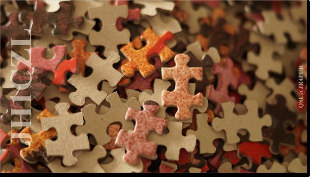 QSL@JR4PUR #492 - Jigsaw Puzzle
