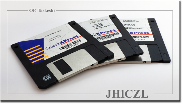 QSL@JR4PUR #566 - Floppy Disks