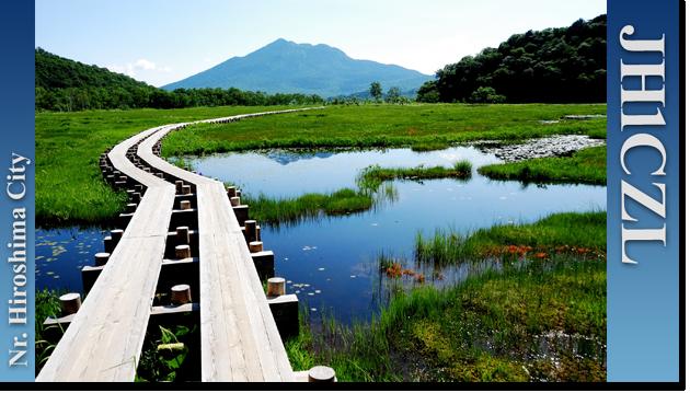 QSL@JR4PUR #722 - Ozegahara, Gunma