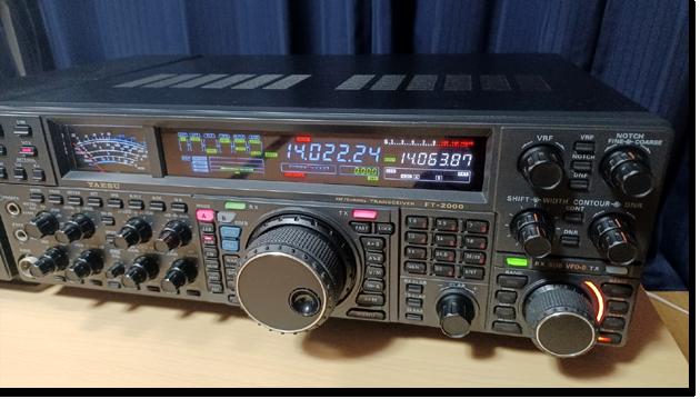 【祝!】YAESU FT-2000Dを入手しました